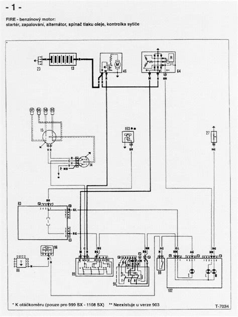 Wiring Diagram For Fiat Uno